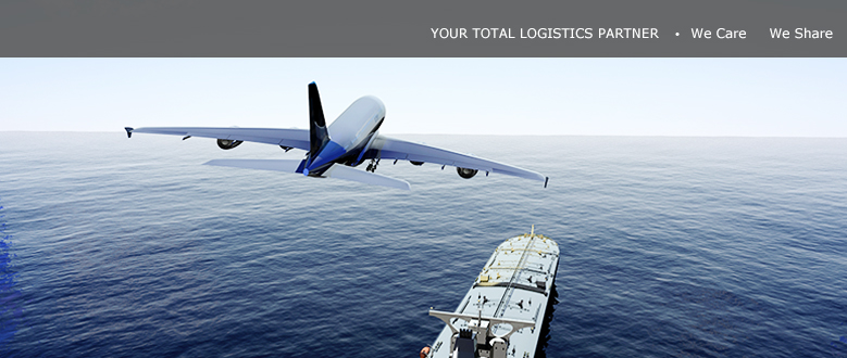 YOUR TOTAL LOGISTICS SERVICE PARTNER / WE CARE WE SHARE 2